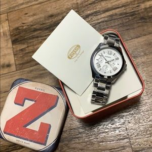 Fossil Watch / Silver